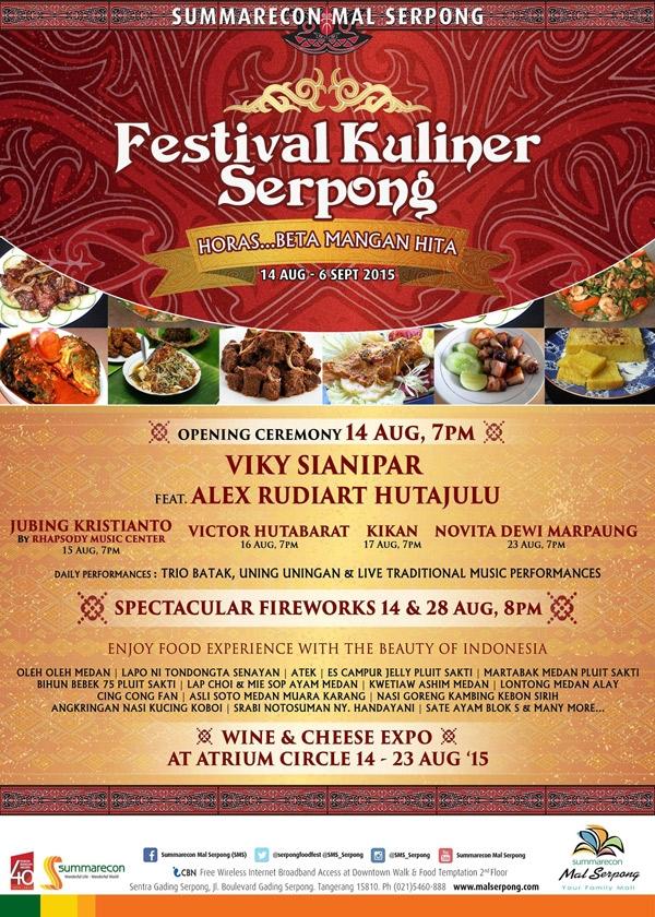 Festival Kuliner Serpong 2015